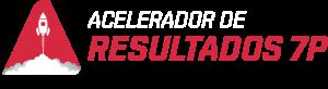Logo Acelerador de Resultados 7P Branco